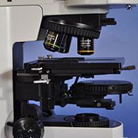 Olympus BX51 Upright DIC Darkfield Metallurgical Microscope