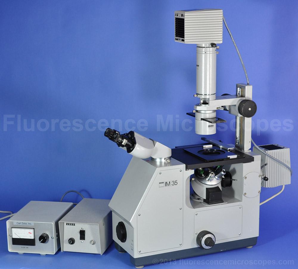 Fluorescence Microscopes - ZEISS IM35 INVERTED
